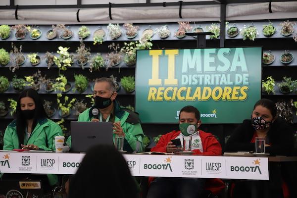 Amplia participación en la II Mesa Distrital de Recicladores 2020