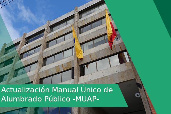 Actualización Manual Único de Alumbrado Público -MUAP-