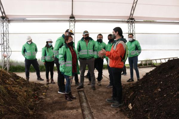 La UAESP tecnificó la Planta de Residuos Orgánicos de Mochuelo