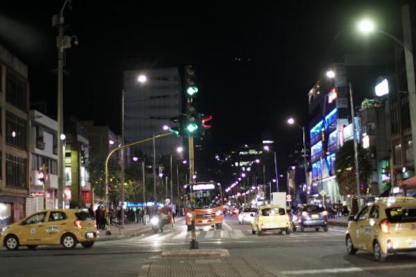 Nuevo alumbrado público de Bogotá