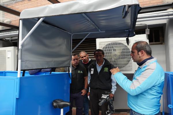 Capacitaciones para el correcto uso de los triciclos eléctricos