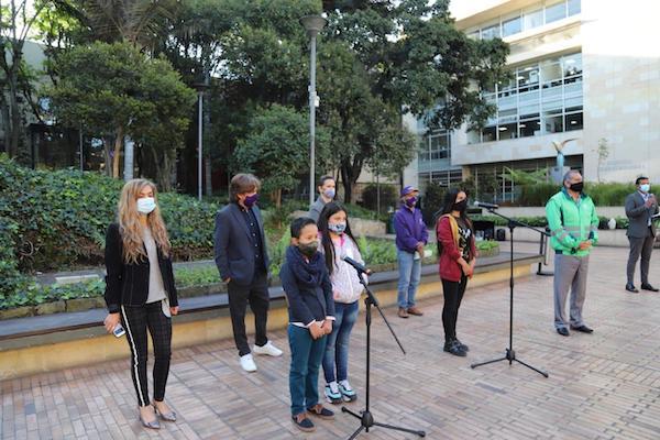 Niños del Mochuelo retan a los ciudadanos a aumentar el aprovechamiento de residuos en Bogotá