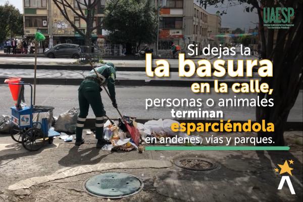.¿Cómo podemos tener a Bogotá más limpia?