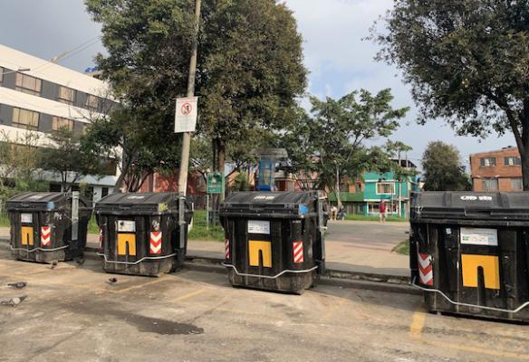 La comunidad de Carimagua en Kennedy trabaja para mejorar la disposición de sus residuos
