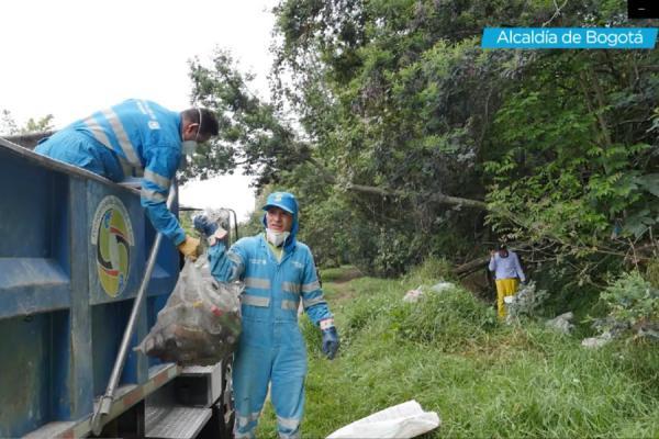 Jornada de limpieza en Usaquén