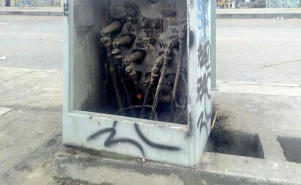 Alumbrado público del sector Portal Américas ha sido vandalizado dos veces en la última semana