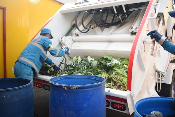 Inició piloto para la separación de residuos orgánicos en Bogotá