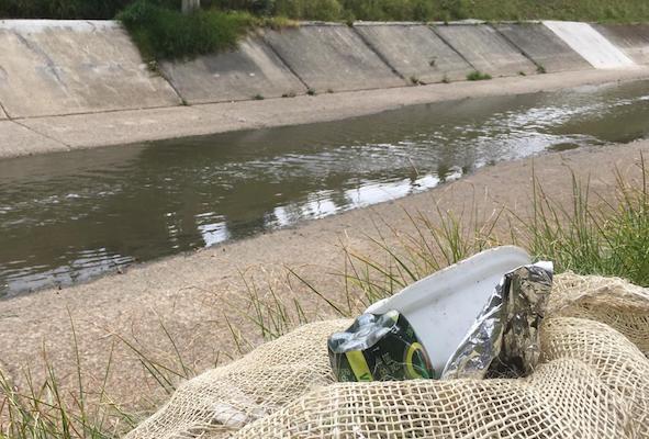 La campaña de limpieza que le dio un respiro al río Fucha