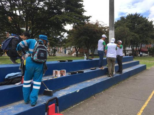 Jornada de embellecimiento en el parque Veraguas