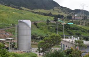 En Doña Juana se aprovechan los gases de los residuos