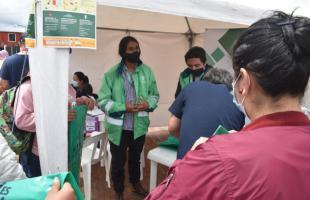 Habitantes de Quiba participaron en Feria de Servicios Interinstitucional