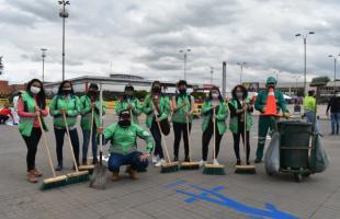 La UAESP participó en Juntos Cuidamos Bogotá
