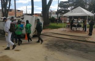 La comunidad de Fontibón continúa participando en Juntos Limpiamos Bogotá