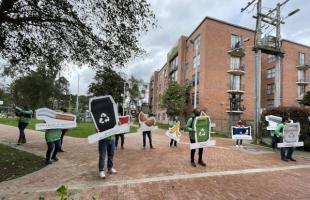 Bogotá avanza en la recolección de residuos orgánicos