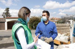 Con Juntos Limpiamos Bogotá se han recogido más de 120 toneladas de residuos de gran tamaño en Suba
