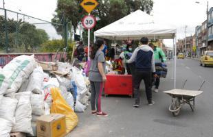 Juntos Limpiamos Bogotá recogió 58 toneladas de residuos voluminosos en Tunjuelito