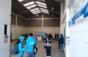 Entrega de nueva bodega Bogotá
