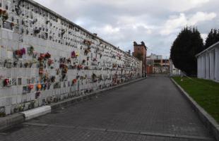 Avanzan obras de renovación de fachada y edificio de locales comerciales en el Cementerio del Sur