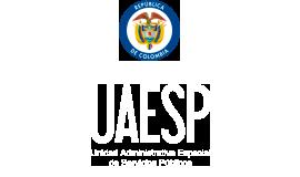 logo escudo de colombia y uaesp