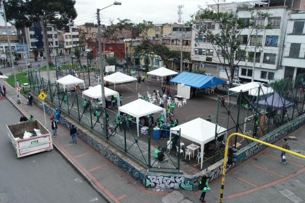 Inicia Toma Territorial de la UAESP con Juntos Cuidamos Bogotá