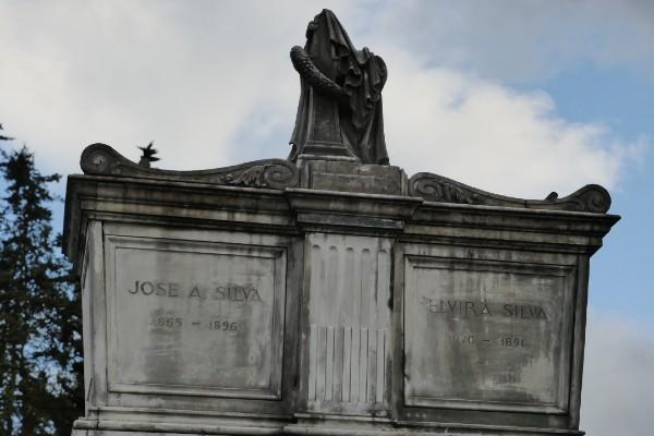 José Asunción Silva descansa en el Cementerio Central