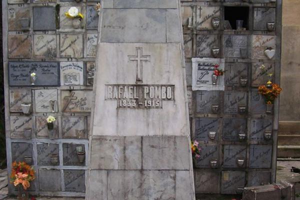 Tumba de Rafael Pombo